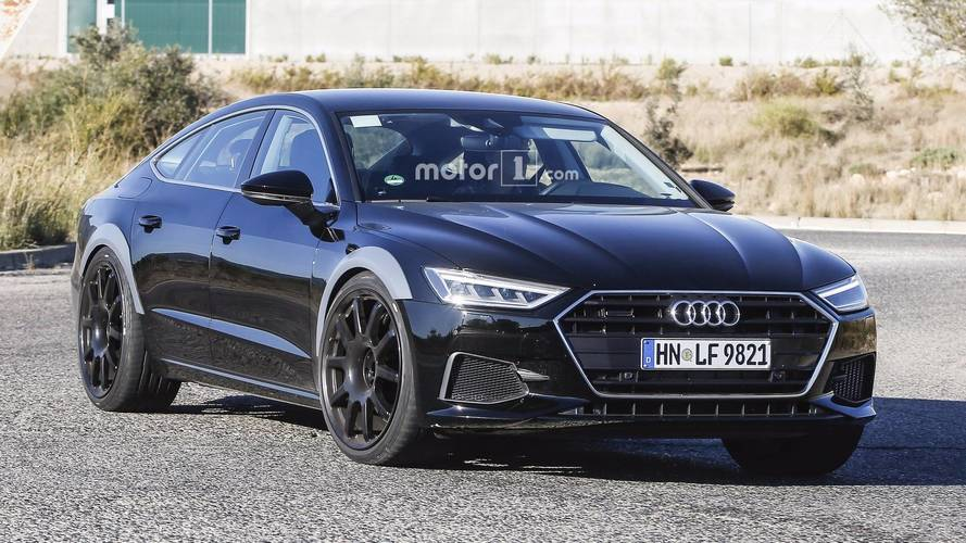 2019 Audi RS7 Sportback Spied For The First Time