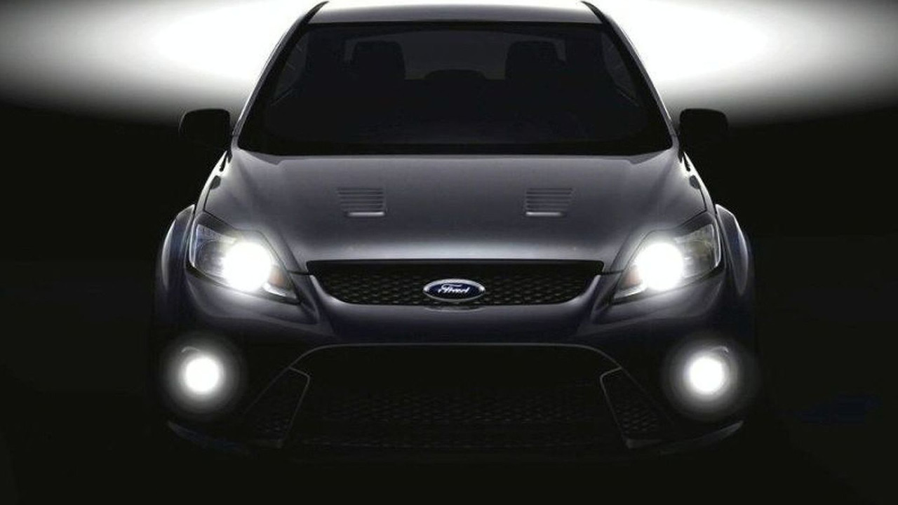 Ford Focus RS Teaser Photo