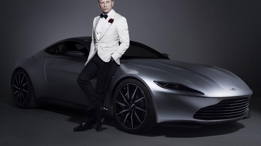 L'Aston Martin DB10 de James Bond débarque à Monaco