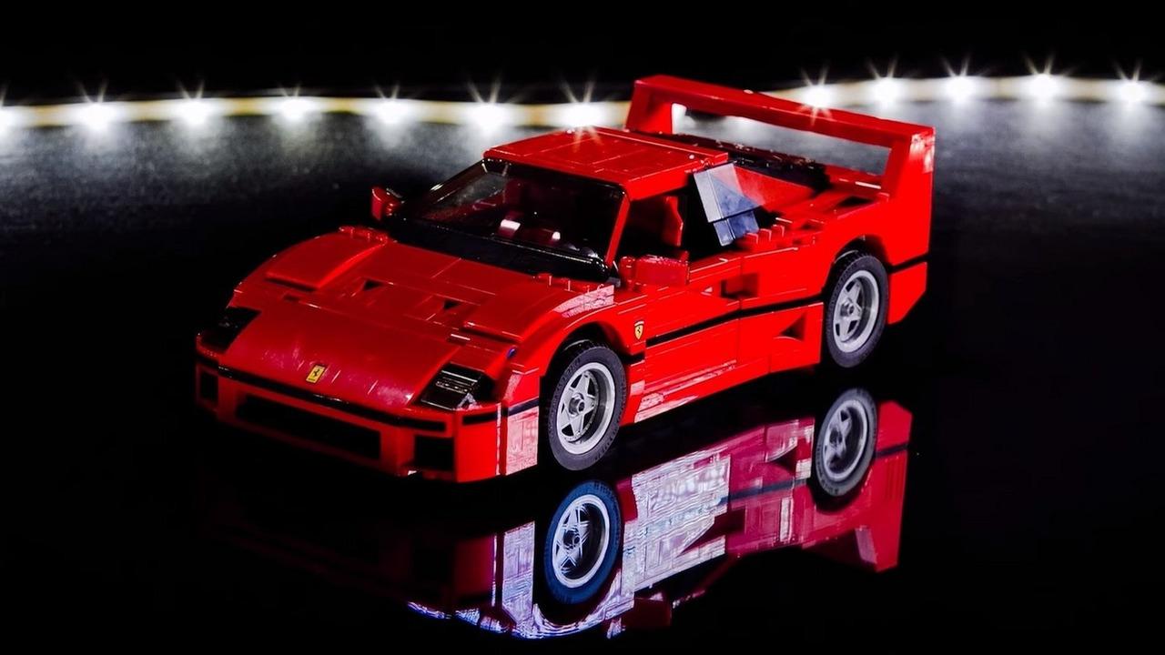 Ferrari F40 from LEGO