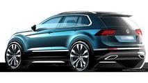 2016 Volkswagen Tiguan teaser image