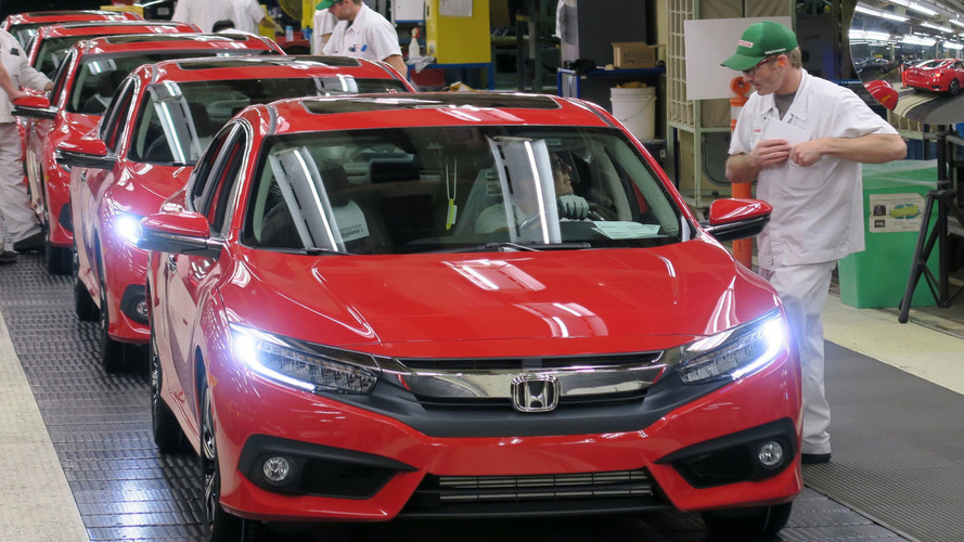 2016 Honda Civic goes into production