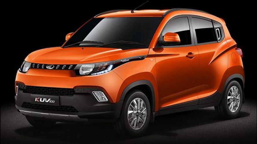 Mahindra KUV100, il micro SUV per l'India