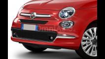 Fiat 500 restyling. I rendering di OmniAuto.it