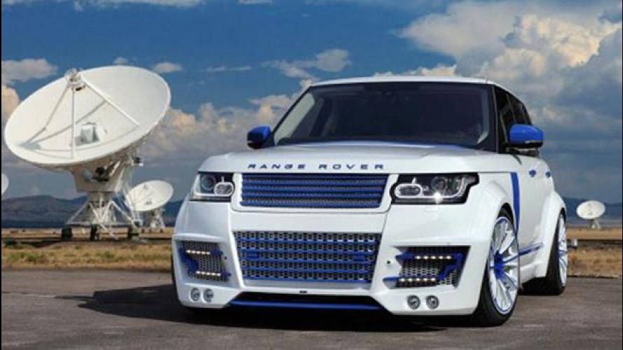 Range Rover Vogue CLR-R by Lumma Design