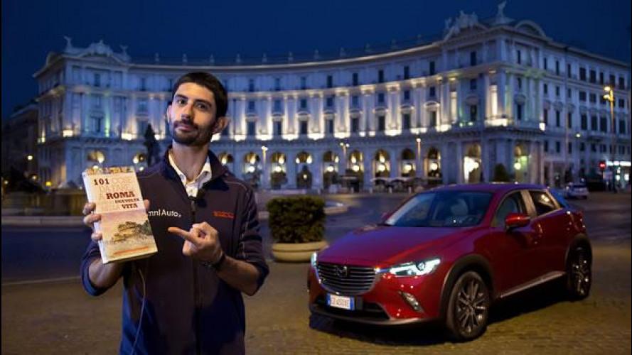 Mazda CX-3, l'abbiamo provata a Roma
