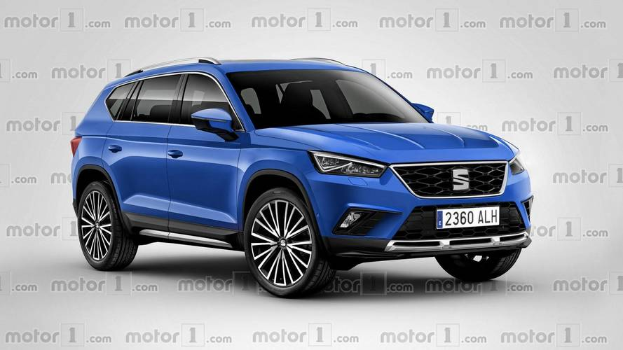 SEAT Flagship SUV Rendered, Should Debut Before The Year's End