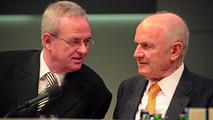Prof. Dr. Martin Winterkorn, Vorsitzender des Vorstands der Volkswagen AG, und Prof. Dr. Ferdinand Piëch, Vorsitzender des Aufsichtsrats der Volkswagen AG 23.04.2009