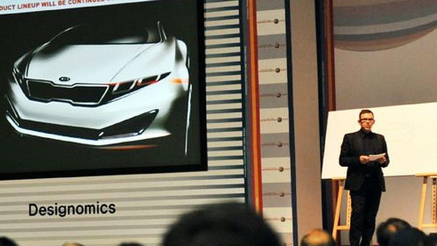 Kia's K9 Luxury Sedan Teaser Sketch Revealed