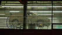 Audi Q3 caught through factory window
