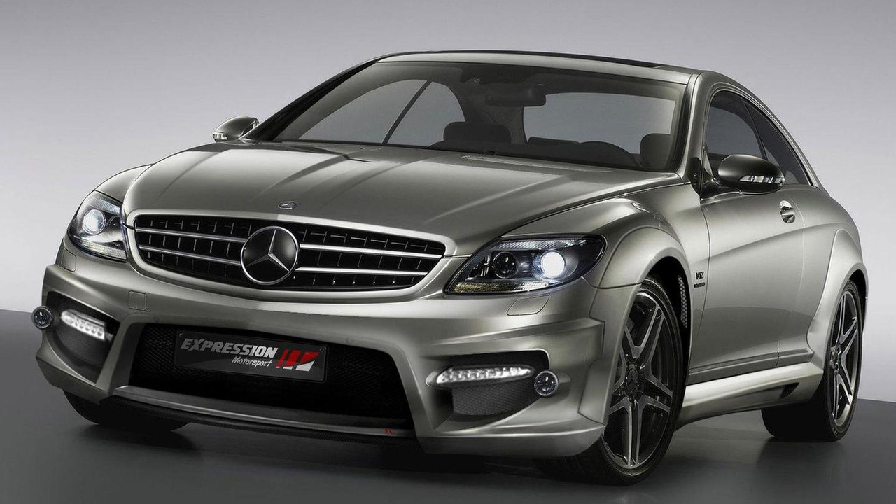 mercedes-benz cl 65 amg wide body kitexpression motorsport