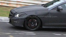 2012 Mercedes CLS 63 AMG prototype spy photo 16.04.2010
