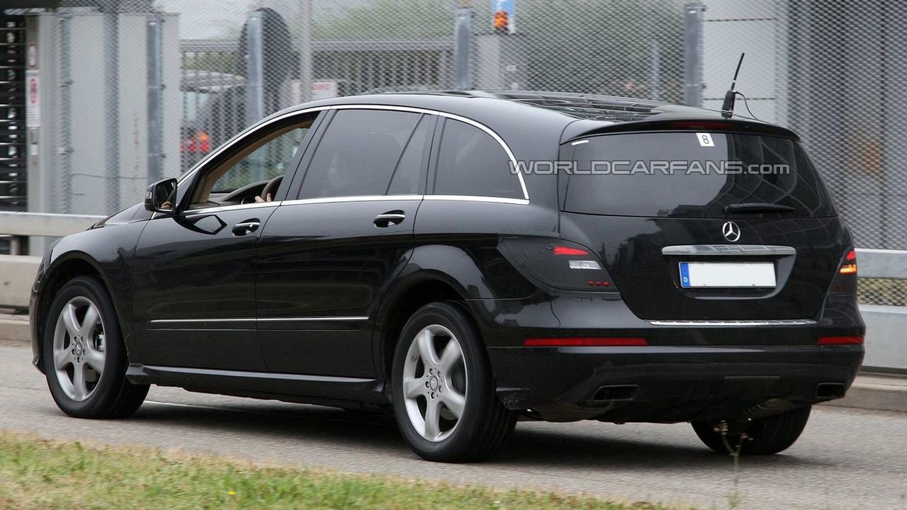 2010 Mercedes R-Class Facelift
