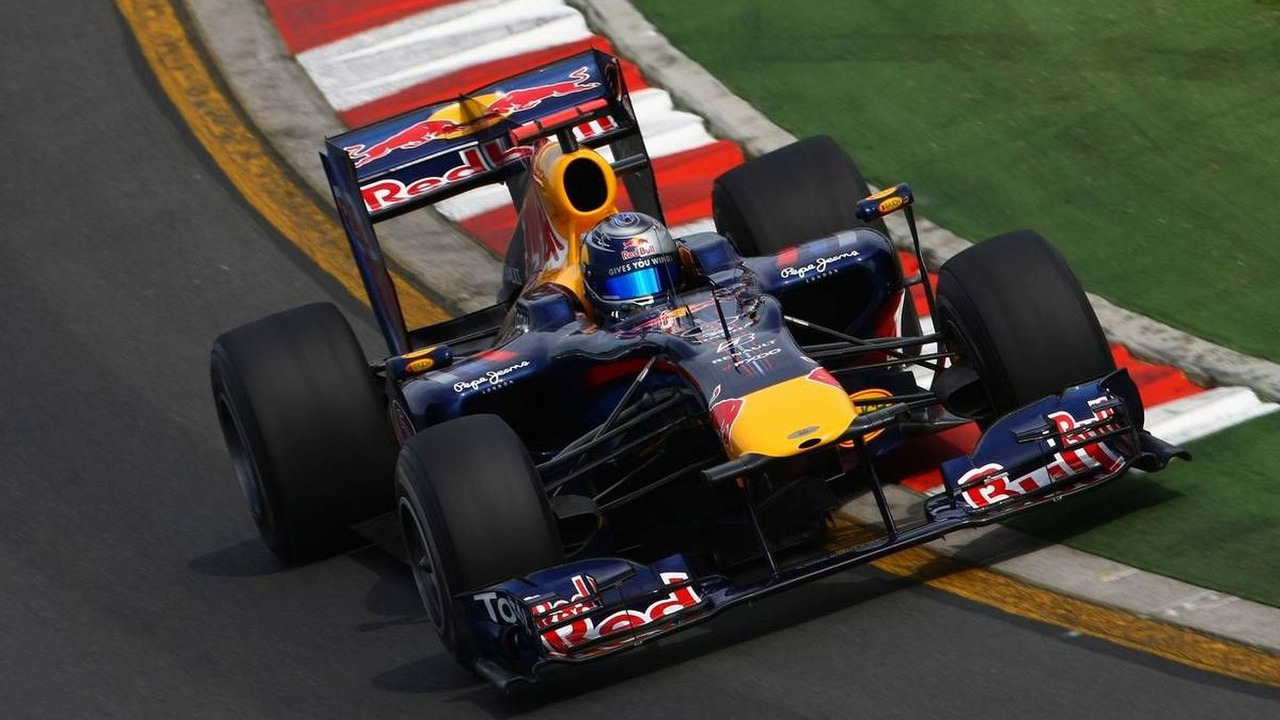 Sebastian Vettel (GER), Red Bull Racing, RB6 - Formula 1 World Championship, Rd 2, Australian Grand Prix, Friday Practice