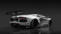 Lamborghini Aventador gets radical styling from Liberty Walk