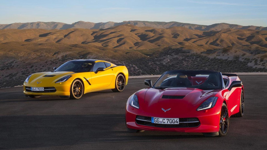 Euro-spec Chevrolet Corvette Stingray shines in new gallery