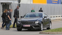 2015 Mercedes CLS spy photo