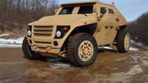 FED ALPHA fuel-efficient military vehicle by Ricardo