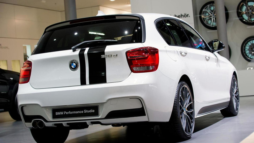 BMW 1-Series Performance Accessories concept revealed