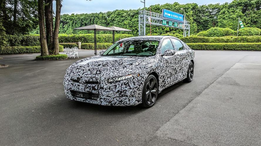 2018 Honda Accord Prototype First Drive: No V6, No Problem