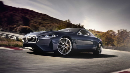BMW 8 Series Concept Foretells Drop-Dead Gorgeous Grand Tourer