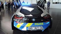 BMW i8 de la policía checa