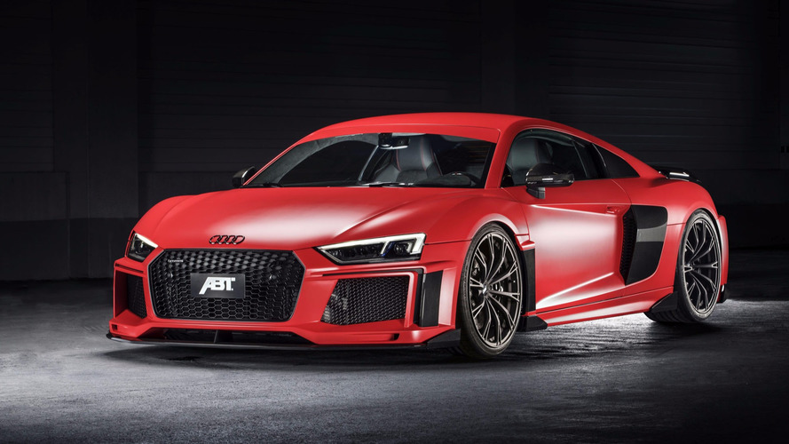 Audi R8 V10 Plus gets added aggression by ABT
