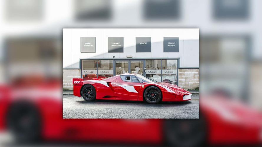 Dünyanın yolda kullanımı yasal tek Ferrari Enzo FXX'i