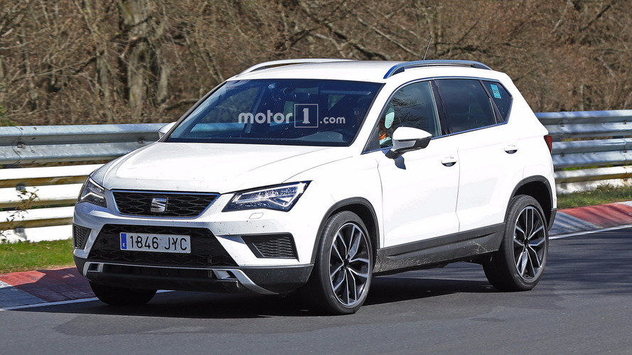 SEAT Ateca Cupra Spied Tackling The Nurburgring