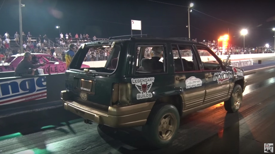 Demolition Derby Drag Racing Photo
