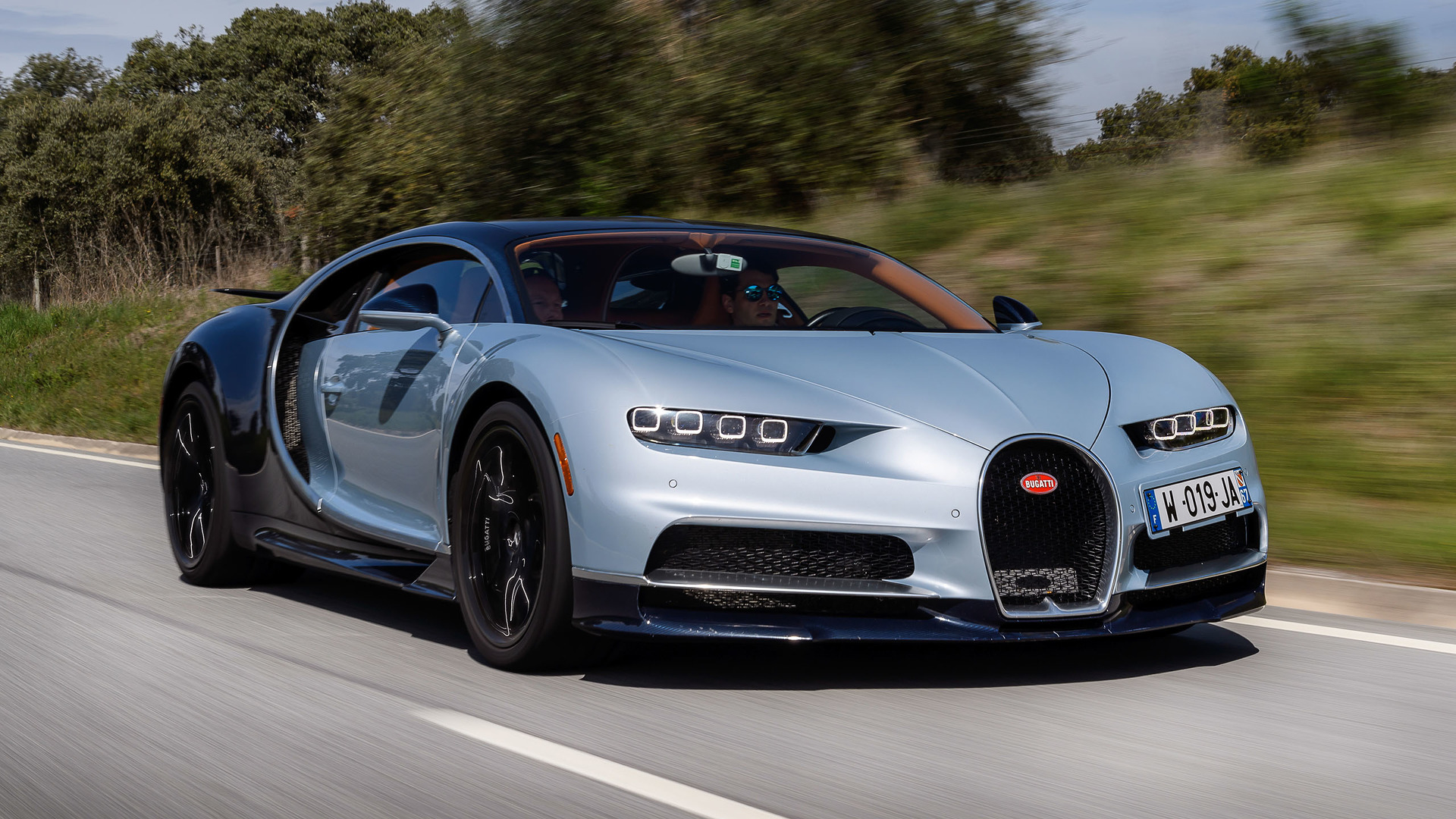 2018 Bugatti Chiron First Drive Record Wrecker