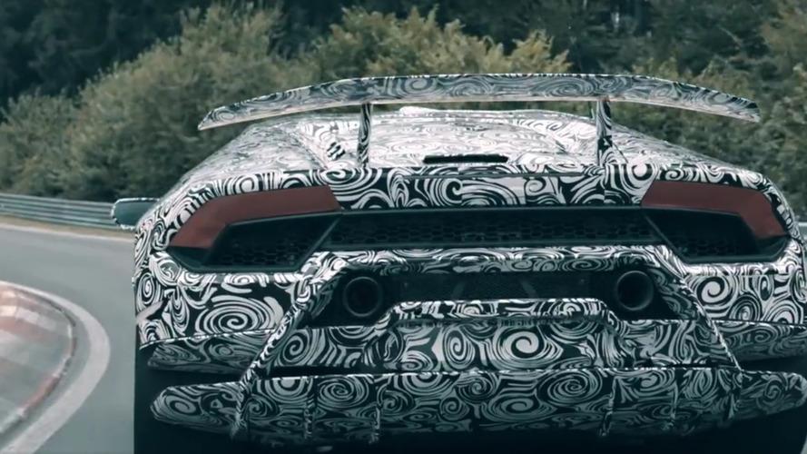 Lamborghini Huracan Performante'nin yeni teaser'ı