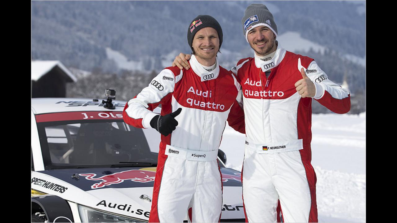 Felix Neureuther: Audi S1 EKS RX quattro