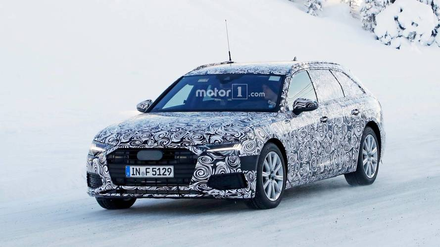New Audi A6 Avant Spied Inside And Out