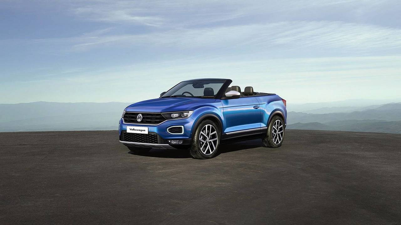 VW T-Roc Convertible render