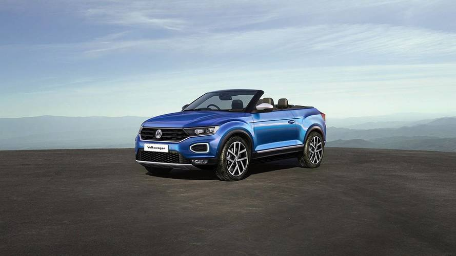 VW T-Roc Convertible ve Coupe render
