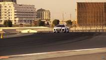 Audi R8 RWS At The Dubai Autodrome