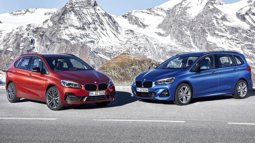 BMW Serie 2 Active Tourer e Gran Tourer, arriva il restyling