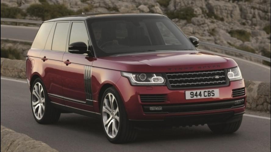 Range Rover SVAutobiography Dynamic, quella con 550 CV