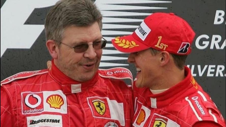 Schumacher, Brawn parla di