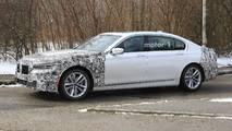 2019 BMW 7 Series facelift spy photo