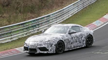La Toyota Supra de nouveau surprise sur le Nürburgring