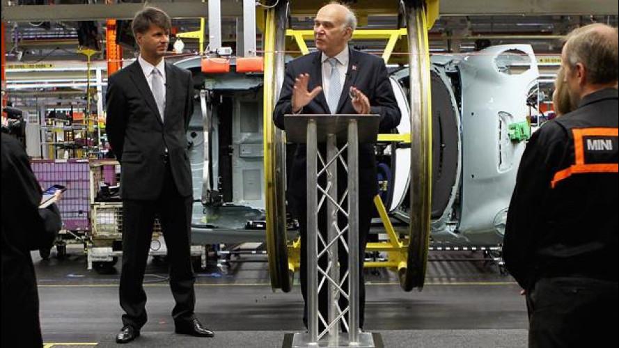 BMW investe altri 315 mln di euro negli stabilimenti inglesi di MINI