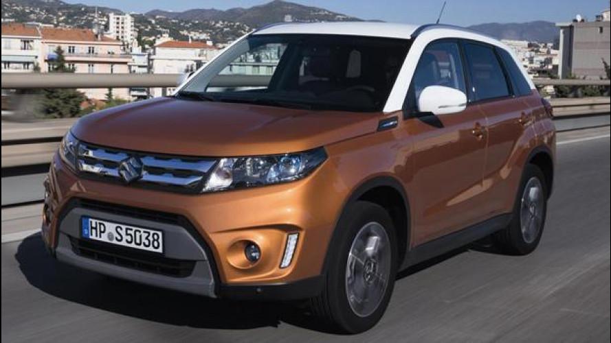 Suzuki Vitara, tutto nuovo tranne il nome