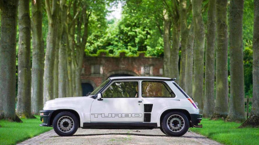 Une Renault 5 Turbo 2 estimée entre 65'000€ et 85'000€ aux enchères de Chantilly