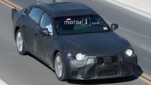 2018 Lexus LS spy shots from Death Valley