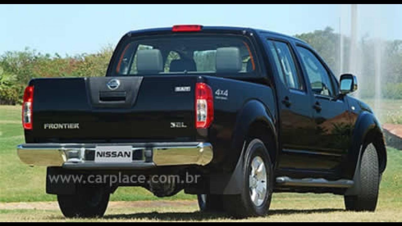 Nissan inicia produção da nova Frontier no Brasil - Utilitário Xterra sai de linha