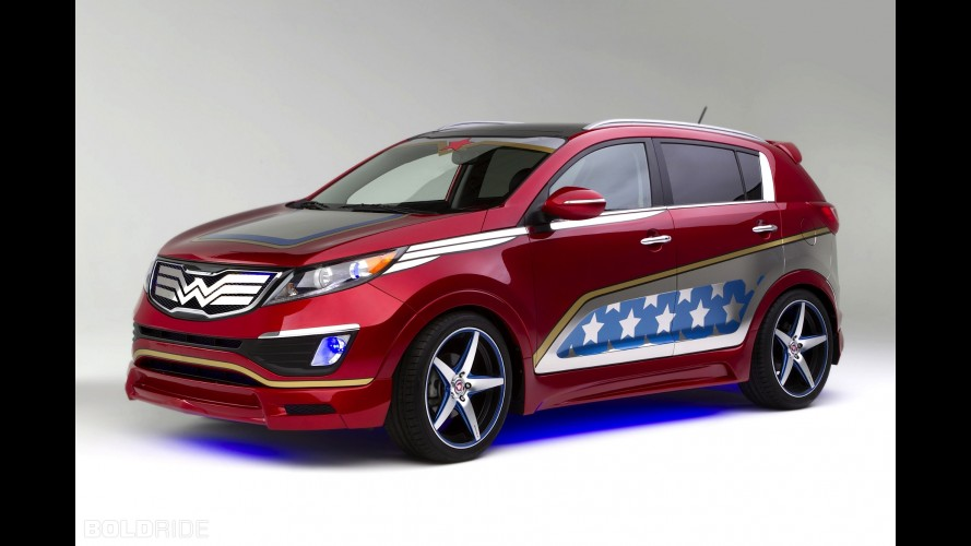 Kia Sportage Wonder Woman Edition
