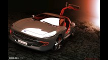 Mercedes-Benz 300 SL Gullwing Concept by Slimane Toubal