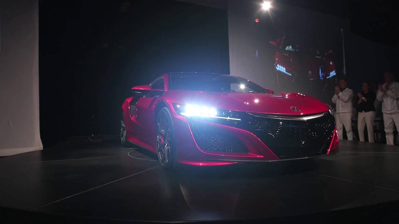 İlk (yeni) Acura NSX sahibine kavuştu
